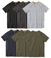 Carhartt Men's Force Cotton Delmont Short Sleeve T-Shirt Relaxed Fit CT100401