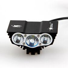 SolarStorm 7500 Lumen 3x CREE T6 LED Front Bike Lamp Bicycle Light Headlight RED
