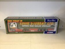Corgi Limited Edition Volvo Globetrotter Curtainside. Eddie Stobart CC12401 1:50