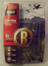 BUSHNELL PowerView All-Purpose Binoculars (132515C) 8X Magnification High Power