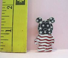 WALT DISNEY VINYLMATION 2009 USA AMERICAN FLAG TRADING PIN LIMITED RELEASE