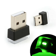 Mini USB Green LED Light Light Neon Atmosphere Ambient Lamp Car Interior Decor