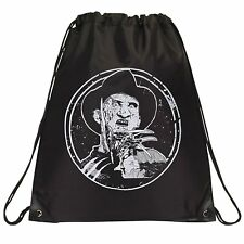 Freddy Krueger , Drawstring Bag - Black