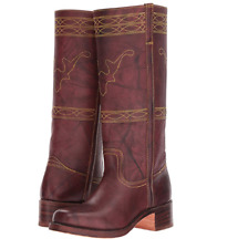 New in Box Frye Campus Stitching Horse Walnut Montana Leather Size 8.5 MSRP $348