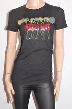 JERSEY WEAR Designer Black JERSEY BOYS Short Sleeve Tee Size M BNWT #SF84