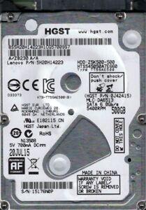 HTS545050A7E660 P/N: 0J42415 MLC: DA6513 China HGST 500GB