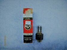 6SN7GTB NOS RCA STAGGERED BLACK PLATE PLATE TUBE, TV-7 D/U TESTED #A-10