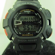 G-Shock Casio G9000-1V MUDMAN BLACK WITH RED ACCENTS LOW TEMPERATURE RESISTANT