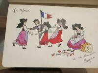 album amicorum 1913 1921 10 dessins originaux en couleurs