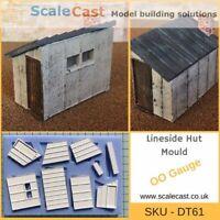 Lineside Hut Mould - DT61 - OO Gauge Model Railway Scenery NEW RELEASE