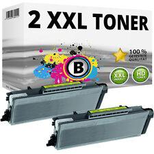 2x XL TONER für Brother MFC 8370DN 8380DN 8880DN 8885DN 8890DN HL5380DN HL5350DN
