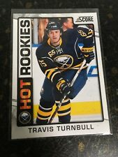 SCORE HOCKEY 2012-13 TRAVIS TURNBULL HOT ROOKIES CARD 522 BUFFALO SABRES