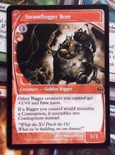 MTG 1x STEAMFLOGGER BOSS - M/NM - FUTURE SIGHT Rare Goblin Rigger