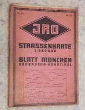 Sheet and Folded Maps for European in German