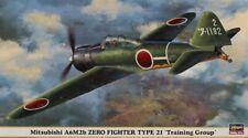 Hasegawa 1:48 Mitsubishi A6M2b Zero Fighter Type 21 Training Group Kit #09834U