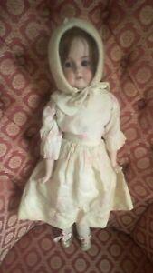 """20"""" Armand Marseilles 370 AM 01/2 DEP Bisque Shoulder-Head Antique Doll ca1900"""
