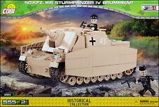 COBI Sturmpanzer IV Brummbar (2514) - 555 elem. - WWII German heavy assault gun