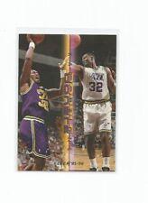 1995-96 FLEER DOUBLE TROUBLE KARL MALONE UTAH JAZZ #7 NM-MINT!!!
