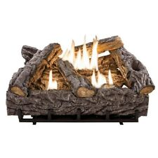 24 in. Timber Creek Vent Free Dual Fuel Gas Log Set w/ Thermostat By Emberglow