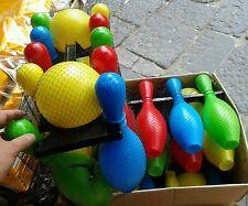 Set bowling palle e birilli leggeri Kit gioco di qualità giocattolo toy a35