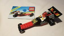 Vintage Lego 6526 Red Line Racer Complete With Instructions