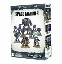 Warhammer 40k Start Collecting Space Marines - Free SHIPPING