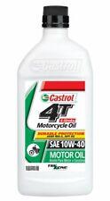 Castrol 4T 10W-40 Motorcycle Oil (QT) 15B64F