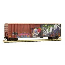 KCS de Mexico 50' Ribside Day of the Dead Weathered/Graffiti MTL #025 51 890 N