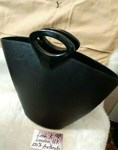 100% Authentic Louis Vuitton Noctambule Epi Black Handbag Vintage Collectable