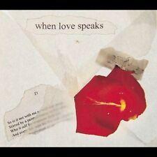 NEW When Love Speaks (Shakespears's Sonnets) (Audio CD)