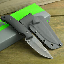 Schrade 8Cr13MoV Drop Point Tactical Fixed Blade G-10 Handle Knife SCHF13