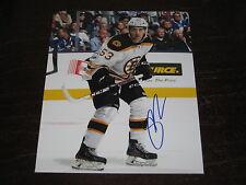 SETH GRIFFITH autographed BOSTON BRUINS 8X10 photo  L@@K