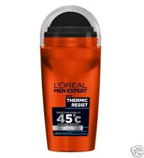 3 x L'OREAL MEN EXPERT termici resistere anti-perspirant deodorante roll on 50ml