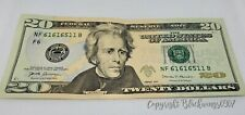 RARE $20 US USD NOTE TRINARY CURRENCY SERIES 2017 REPEATER PATTERN CRISP RARE