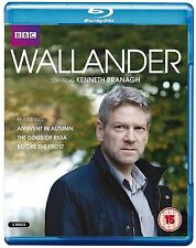 Wallander Complete Series 3 Blu Ray All Episodes Third Season UK Release NEW R2