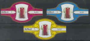 3 sigarenbandjes Voetbal Shirts - Ajax (a01) - Lees !!!
