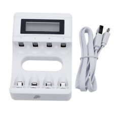 LCD Smart Intelligent Battery Charger For 18650 26650 AAA AA 14500 Li-ion 1x hot