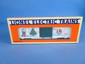 LIONEL #6-19945 - 1996 CHRISTMAS HOLIDAY BOXCAR - NEW SHIPS FREE.
