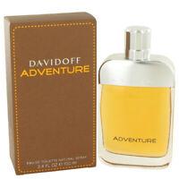 Davidoff Adventure by Davidoff 3.4 oz EDT Cologne Spray for Men New in Box