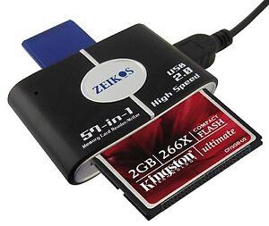 Brandneu Speicher Card Reader/Schriftsteller für Kodak Pixpro AZ401 AZ252 FZ201
