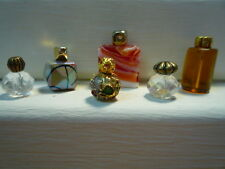 Dolls House Miniature Perfume Bathroom Bedroom Ornament Scent Bottles (56)