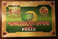 Texas Hold'Em Caribbean Stud Poker + 8 Other Popular Games