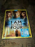 I Am Number Four (Blu-ray/DVD, 2011, 3-Disc Set, Includes Digital Copy)