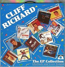 THE E.P. COLLECTION BY CLIFF RICHARD FRANCE IMPORT SEE FOR MILES CD 20 TRACKS EP