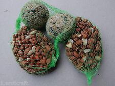 FUTTERKETTE 4-teilig TOP Ganzjahresfutter 15 x 2 Meisenknödel Nußbeutel im Netz