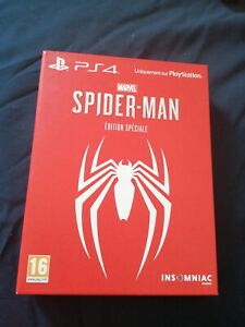 Marvel ÉDITION SPÉCIALE SPIDER-MAN PS4 Sony playstation 4