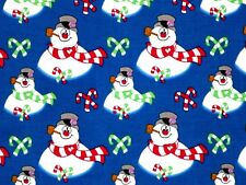 Fat Quarter Frosty Everyone'S Favorite Snowman Fabric Quilting Treasures Cotton