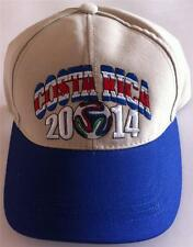 Costa Rica soccer cap Brasil 2014 baseball hat gorra cachucha cotton adjustable