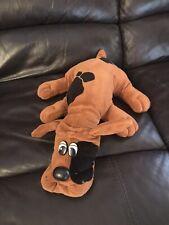"Pound Puppies Puppy Tonka 1985 Vintage Brown Spots Plush Dog 18"" (k)"