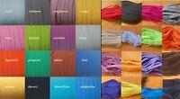 2-10 Meter Gummilitze viele Farben 6- 12 mm Gummiband Gummi Einziehgummi